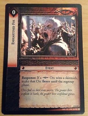 LotR TCG - Enheartened Foe - 1R247 - NM