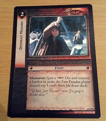 LotR TCG - Desperate Measures - 1R245 - NM