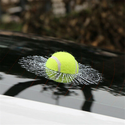 Funny Car Stickers 3D Auto tennis Hitting Car Window Sticker Decal
