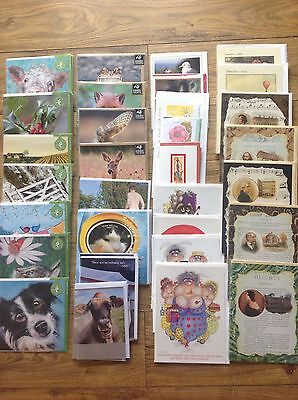 Job lot of greetings cards blank retail value approx £300