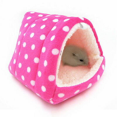 New Hamster Bed Soft Warm Guinea Pig Squirrel Hedgehog House Small Pets Nest Mat