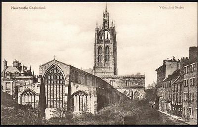 Postcard - Northumberland - Newcastle Cathedral