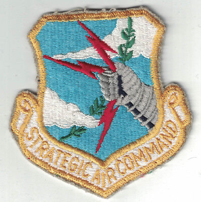 USAF Embroidered Color Patch Strategic Air Command