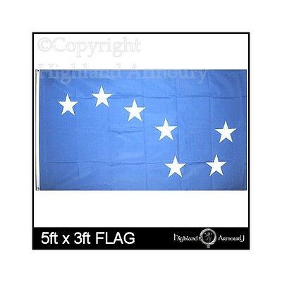 5' x 3' FLAG Starry Plough Blue Irish Republic Ireland Eire Republican New