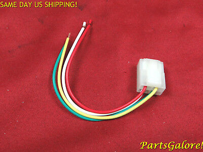 Voltage Regulator Repair Plug & Wire, 4-pin, Honda, Chinese, ATV, Scooter, L29rw