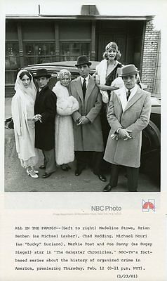 Markie Post Joe Penny Chad Redding Michael Nouri Gangster Chronicles Nbc Photo