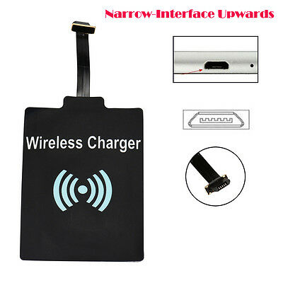 2PCS Universal QI Wireless Charging Receiver Charger Module For Micro USB Phones