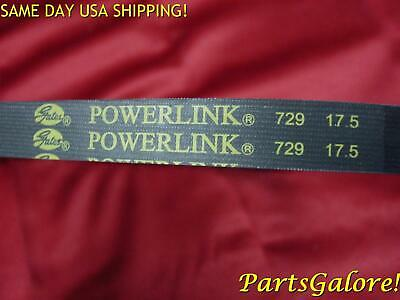 729 17.5 30 GATES PowerLink Belt, GY6 50cc Honda Chinese European Scooters