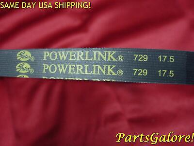 Gates PowerLink Belt 729 17.5 30, GY6 50cc Honda Chinese European Scooters E233