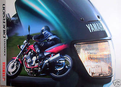 Yamaha Xj600S Xj600N Diversion Sales Brochure Prospekt 1999