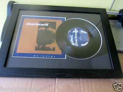 "The Charlatans - Me, in Time - Framed 7"" Single"