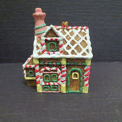 Detailed Resin Gingerbread House Chistmas Ornament