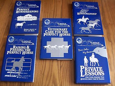 5 Horse Equestrian Books ~ The Making Of A Perfect Horse ~ John Lyons
