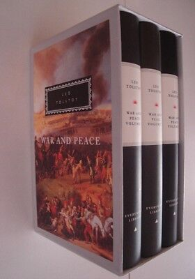 War And Peace: 3 vols (Everyman's Library Classics) (Hardcover), . 9781857150964