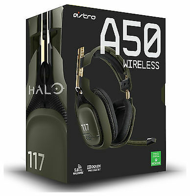 Astro A50 Halo Edition Wireless Xbox One / PS4 Gaming Headset - Green - Argos