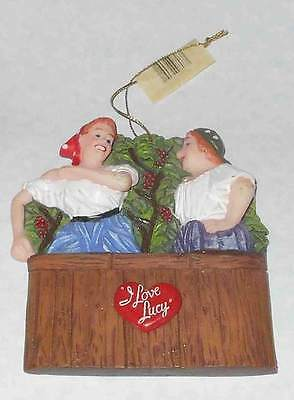 NEW Christmas Ornament I LOVE LUCY & ETHEL Italian Movie KURT ADLER