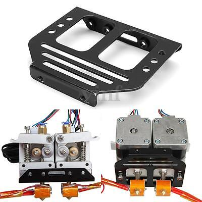 1Pcs Metal MK8 Extruder Holder Chassis For Dual Head 3D Printer Kit Accessories