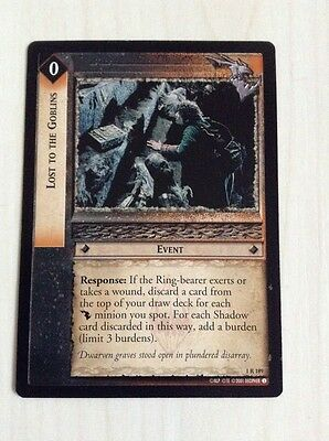 LotR TCG - Lost to the Goblins - 1R189 - NM