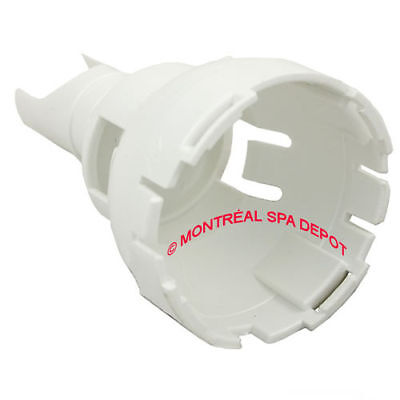 Waterway Power Storm spa jet DIFFUSER part# 218-6610 white back part