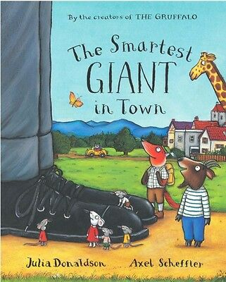 The Smartest Giant in Town Big Book (Paperback), Donaldson, Julia, 9780230013896