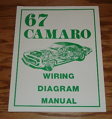 1967 pontiac firebird wiring diagram manual 67 • 9 00 picclick 1967 chevrolet camaro wiring diagram manual 67 chevy