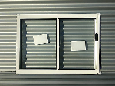BRAND NEW 600h x 850w Aluminum Sliding window 8 Standard Colours Clear Float