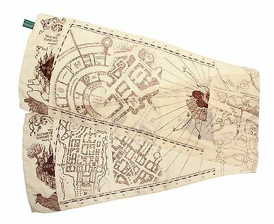 Harry Potter Marauders Map Lightweight Costume Scarf By Elope