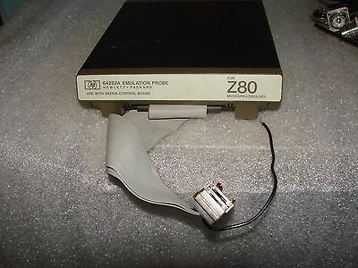 Hp 64252A Z80 Cpu Emulation Probe 64251A Vintage Computer ++