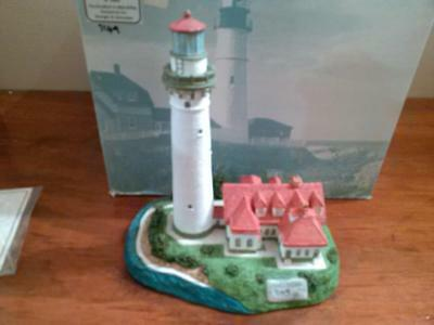 Harbour Lights Lighthouse WIND POINT #154 1995 Limited Edition COA with Box