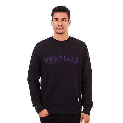 Penfield - Brookport Sweater Black Pullover Rundhals