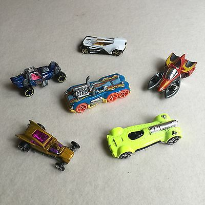 6X HOT WHEELS Maisto DIECAST Cars SPLIT Vision/SEMI Psycho, RETRO Active/FANGULA