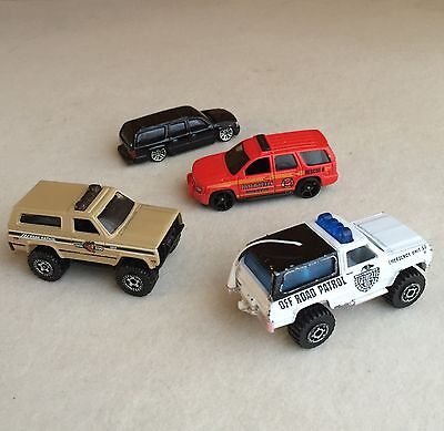 BULK Lot DIECAST Chevy BLAZER Tahoe TRUCKS Cars MATCHBOX Hot Wheels MAISTO~Loose