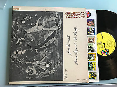 2 LP USA 1969  RARE Julie Driscoll, Brian Auger & The Trinity – Streetnoise