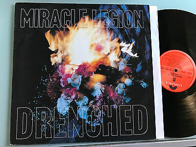 LP UK 1992  NM Miracle Legion – Drenched Label: Morgan Creek Records 