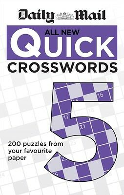 Daily Mail: All New Quick Crosswords 5 (The Daily Mail Puzzle Books) (Paperback)