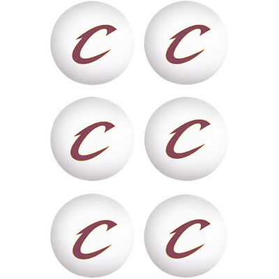 Cleveland Cavaliers WinCraft 6-Pack Table Tennis Balls - NBA