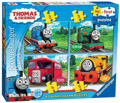 07053 Ravensburger Thomas & Friends My First Puzzle  [Children's Jigsaw Puzzle]
