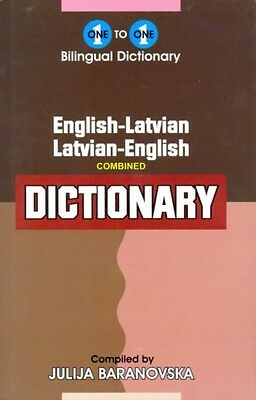 One to one dictionary: English-Latvian & Latvian-English Dictionary (exam suita.