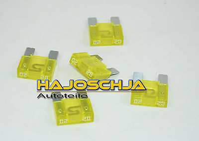 5 x 20 A Maxi Fuse APX Safety Plug Safety Car Safety Yellow Car Ampere