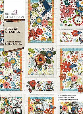 Anita Goodesign Embroidery Designs Birds of a Feather 314AGHD - NEW SEALED