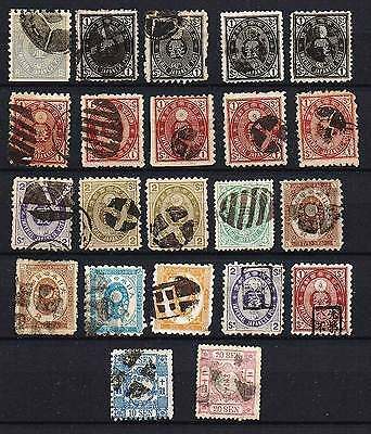 JAPAN classic all CORK cancel (+2 others)  F/VF