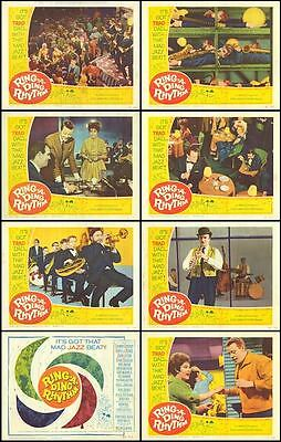 IT'S TRAD DAD orig lobby card set HELEN SHAPIRO/ACKER BILK 11x14 movie posters