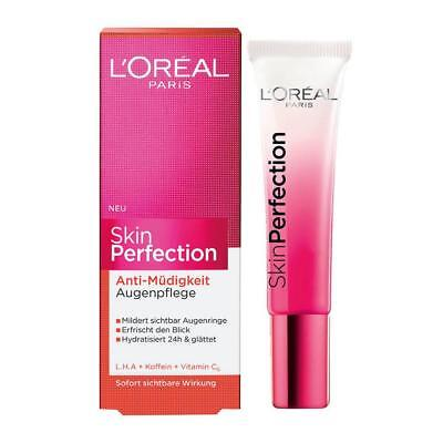 L'Oréal Paris Skin Perfection Anti-Müdigkeit Augenpflege, 1er Pack (1 x 15 ml)