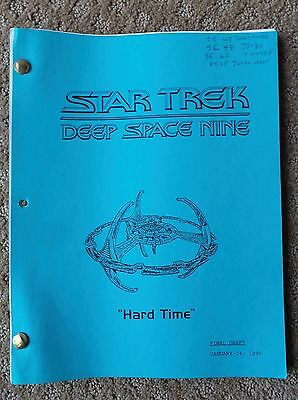 Star Trek Deep Space Nine Ds9 Tv Series Show Script Episode Hard Time