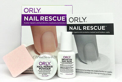 Orly Treatment - NAIL RESCUE KIT (Repair & Protect Cracked & Broken Nails) 23800
