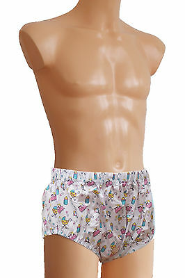 PVC diaper pants Adult Baby Pressure Knickers ABDL PVC Briefs Pull on trousers
