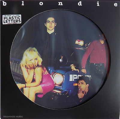 BLONDIE LP PLastic Letters PICTURE DISC 2016 New Limited Edition