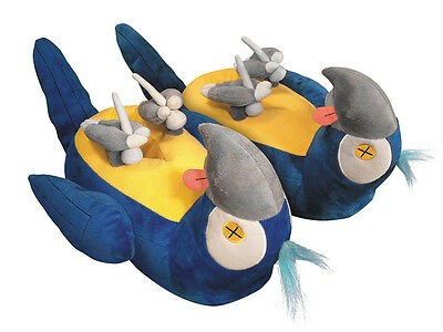 Monty Python Resting (Dead) Parrot Plush Slippers by Toy Vault TOY15103