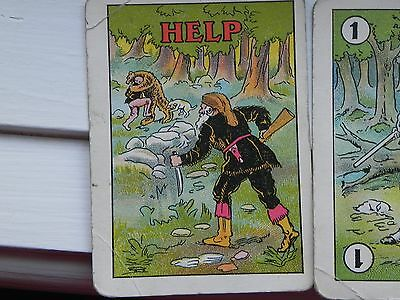 9  PRESIDENT Theodore TEDDY Roosevelt-1907- BEAR HUNT game cards (rare empheria)