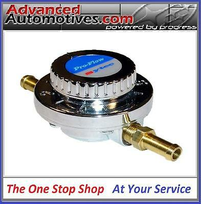 8mm Manual Adjustable Fuel Pressure Regulator Carburettor Carb Fuel Pump